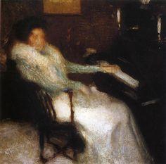 Lady By Piano 1899  Igor Grabar