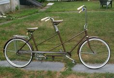 """Daisy Tandem bicycle 2 seater 26"""" vintage Huffy ?"""