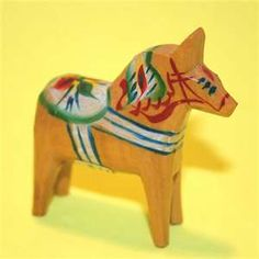 Image detail for -Miniature Dala Horse | Flickr - Photo Sharing!