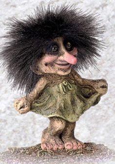 840030 Lovely troll, Troll shop Troll size small