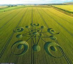 cultivos círculo Dorset Reino Unido