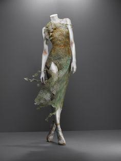 Dress, Highland Rape, autumn/winter 1995–96   Alexander McQueen: Savage Beauty   The Metropolitan Museum of Art, New York
