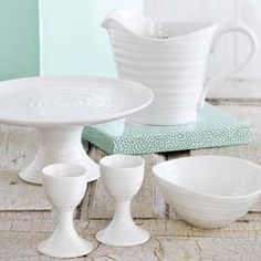 #white tableware