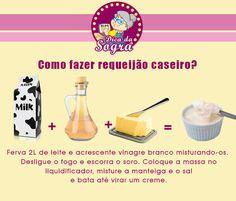 COMO FAZER REQUEIJÃO CASEIRO? Veja essa e outras dicas em nosso blog: http://dicasdacasa.com/dicas-de-cozinha-da-sogra/