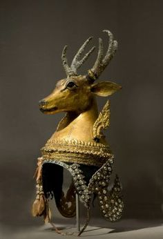 Theatrical headdress for the magical deer in the Story of Rama dance-drama