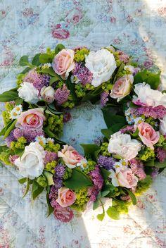 Summer flower wreath...
