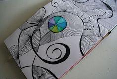 Zen Tangling....like doodle art