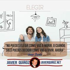 Tu Eliges Como Vivir #frasepoderosa - Coaching Marketing y más en http://ift.tt/1OECVwE