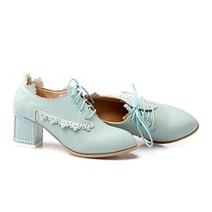 Women's Chunky Heel Round Toe Pumps/Heels Shoes (More Colors) - EUR € 20.62
