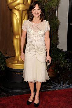 Sally Field in Alberta Ferretti | 2013 Oscar Luncheon #redcarpet
