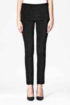 Regina Skinny Velvet Trousers - French Connection