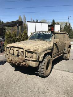 Nissan Patrol Y60 Mud Best 4x4 Cars, Nissan Patrol Y61, Patrol Gr, Nissan 4x4, Military Equipment, 4x4 Trucks, Rollers, Fountain Pen, Sport Cars