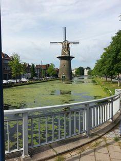 Hoogste molens ter wereld Schiedam, Zuid - Holland Nederland