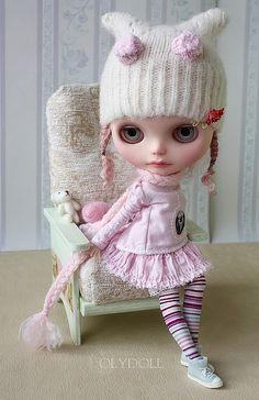 """Clothing Moth """"Kuzya"""" by Olga / olydoll Ooak Dolls, Blythe Dolls, Barbie Dolls, Creepy Dolls, Little Doll, Custom Dolls, Ball Jointed Dolls, Doll Face, Big Eyes"""