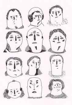 Blog: Human Faces For Days - Doodlers Anonymous
