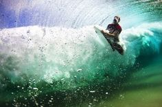 it's a bodyboard, but nice pic nonetheless.