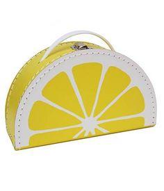 Kids Boetiek citroen koffertje