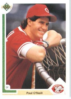 1991 Upper Deck # 133 Paul O'Neill Cincinnati Reds - MLB Trading Card