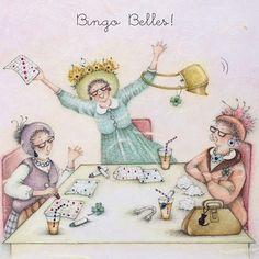 Cards » Bingo Belles » Bingo Belles - Berni Parker Designs