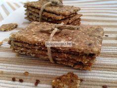 Svájci ropogtatós kenyér Vegan Sweets, Granola, Bread Recipes, Recipies, Snacks, Desserts, Clever, Food, Ideas