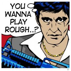 Scarface Pop Art | Limited Edition of 95 and 10 Artist Proofs