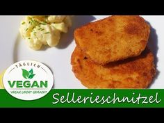 Sellerieschnitzel VEGAN paniert Seitan, Donuts, Cornbread, Breakfast, Ethnic Recipes, Videos, Food, Youtube, Cooking