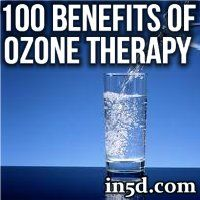 How would you like to slow down the aging process? Would you add ozone to your water if you knew that it helps to prevent cancer? What if you could fight infections with ozone therapy?