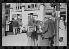 Carl Mydans. Street corner scene, Manchester, New Hampshire. 1936 Aug. Library of Congress Prints and Photographs Division Washington.