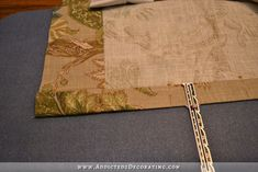 how to make double width lined pinch pleated drapery panels - 12