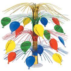 Birthday Party Balloon Cascade Centerpiece (6ct)