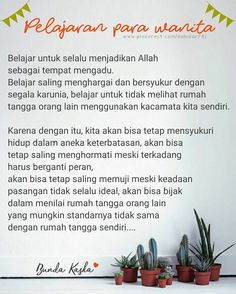 Belajar saling menghargai dan bersyukur Islamic Love Quotes, Muslim Quotes, Self Reminder, Daily Reminder, Me Quotes, Qoutes, All About Islam, Family Rules, Perfection Quotes