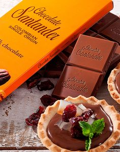 Chocolate Gourmet Colombiano - Chocolate Santander - Chocolate Santander