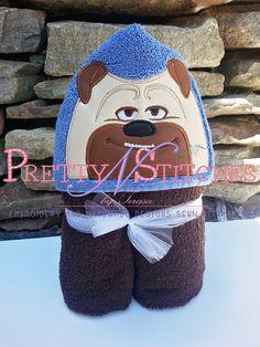 5X7 SLP_Pug Dog Peeker Applique Embroidery Design by PrettyNStitches, $4.65 USD