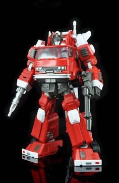NEW Masterpiece Transformers Maketoys Hellfire Inferno in Stock Transformers Collection, Transformers Toys, Transformers Masterpiece, Toy R, Robot Action Figures, Wrestling News, Optimus Prime, Toy Store, Fire Trucks