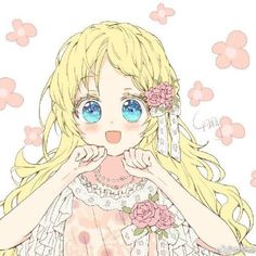 Athanasia De Alger Obelia - Who Made Me A Princess - Image - Zerochan Anime Image Board Kawaii Anime Girl, Anime Art Girl, Manga Girl, Anime Princess, My Princess, Yandere, Blonde Hair Anime Girl, Anime Couples Drawings, Manhwa Manga