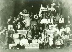 The School of Bauhaus / Bauhaus Party at the Ilmschlösschen Tavern near Weimar on 29 November 1924
