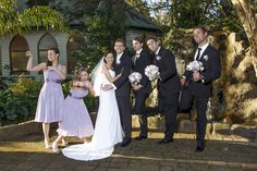 Wedding Photography at Bram Leigh Receptions Bridal party group