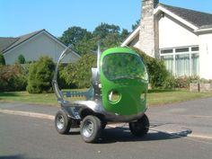 Birdseye Pea Car Deconstructed