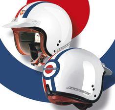 Lambretta 'target' scooter helmets