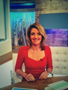 Kaye Adams in Zelma from Tv Presenters, Today Show, Spring 2014, Hair Cuts, British, Army, Summer Dresses, Female, Celebrities