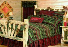 rustic bedding | Rustic Cabin Bedding Sets | Blue Lake Brands
