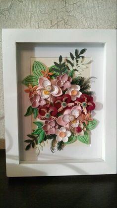 Floral Design - quilled by: Unknown Artist