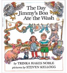 The Day Jimmy's Boa Ate the Wash   Picture Story Book