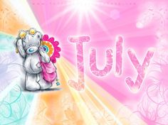 GIPHY is how you search, share, discover, and create GIFs. Tatty Teddy, Holiday Pictures, Cute Pictures, Teddy Bear Quotes, Calendar Pictures, Hello July, Teddy Bear Pictures, Blue Nose Friends, Bear Graphic