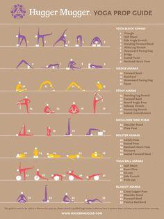 guide to yoga props  | Hugger Mugger