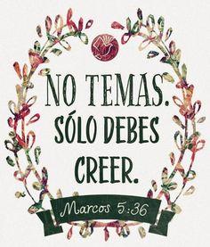 REDE MISSIONÁRIA: NO TEMAS (Marcos 5:36)