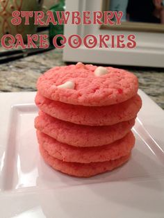 cake batter cookies - easy cookie to bring to the office?