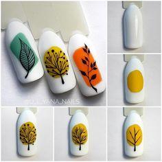 Fotos an der Gemeindemauer - Fotos Nail Art Designs Videos, Fall Nail Art Designs, Nail Art Videos, Pink Nail Art, Flower Nail Art, Cute Nail Art, Nail Art Modele, Nagel Bling, Minimalist Nails