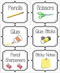 Labels & More to Organize - Mrs. Zimmerman's Third Grade G & T Class at Chelsea Prep