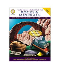 #CDWish13Connect students in grades 5 and up with science using Rocks and Minerals. This 80-page book covers topics such as the layers of the earth, mineral identification, igneous rocks, sand, and fossils. It contains subject-specific concepts and terminology, inquiry-based activities, challenge questions, extension activities, assessments, curriculum resources, a bibliography, and materials lists. The book supports National Science Education